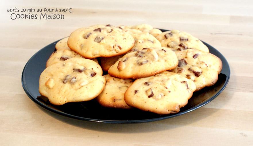 recette cookies fait maison
