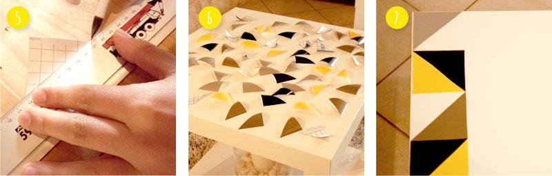 Etapes pour la fabrication de la table lack personnalisée. Commencer la personnalisation