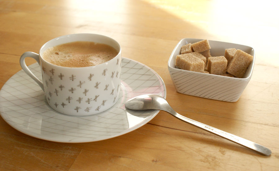 service à café personnalisé