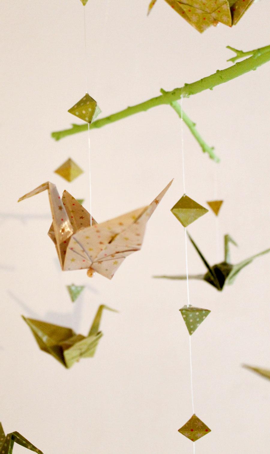 gruge en papier origami