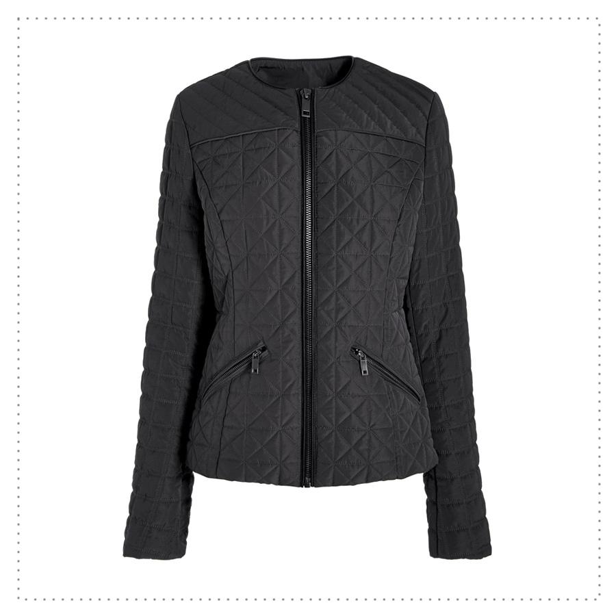 veste matelassée noire