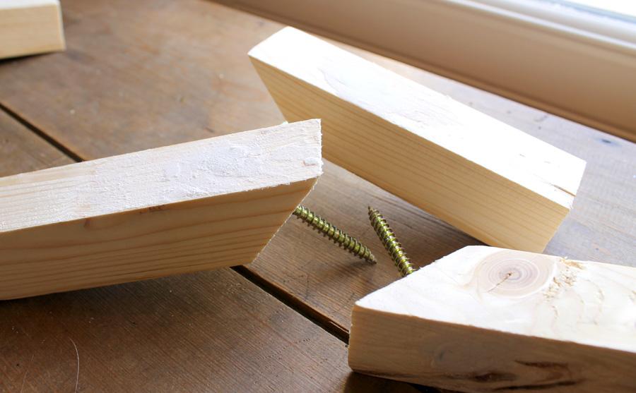 patères en bois