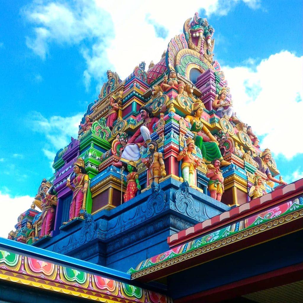 Temple hindou du chaudron - Ile de la reunion