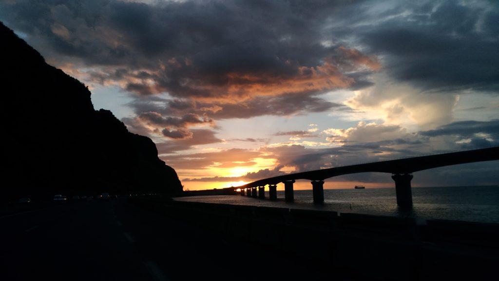 Pont route du litoral - Ile de la reunion