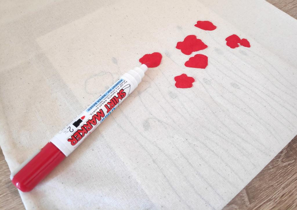 marqueur pour textile