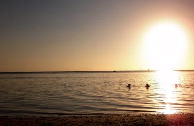 Coucher du Soleil à l'Ermitage - Ile de la Reunion